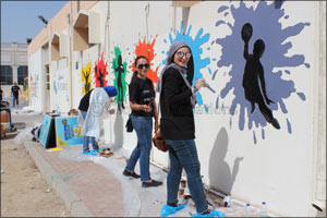 As part of Volunteer Emirates Dubai Cares gives a makeover to Sharjah's National Charity Schools for ...