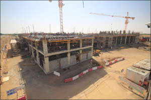 Completion of 25% of Abu Dhabi University's new Al Ain Campus