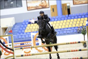 Young Horses Finals held at Sharjah Equestrian & Racing Club's Indoor Sand Arena