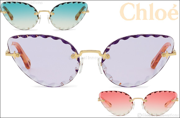 """Chloé Launches The New Spring/summer 2019 Advertising Campaign Featuring Two Iconic """"rosie"""" Style Sunglasses"""