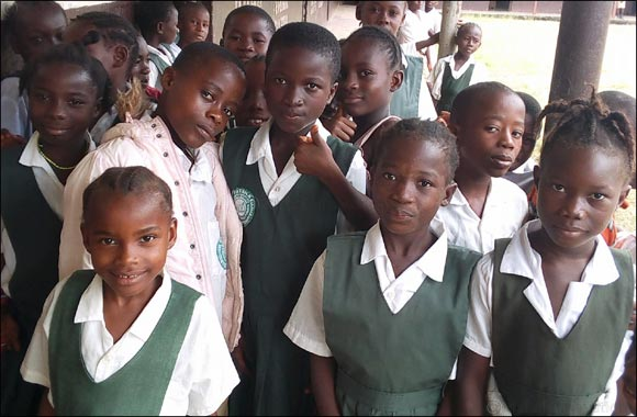 Dubai Cares kicks off a 3-year school health program in Liberia to tackle deworming and eye health needs for school-aged children