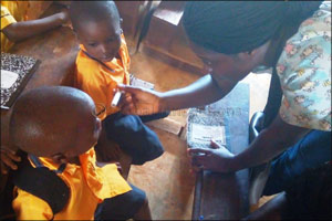 Dubai Cares kicks off a 3-year school health program in Liberia to tackle deworming and eye health n ...