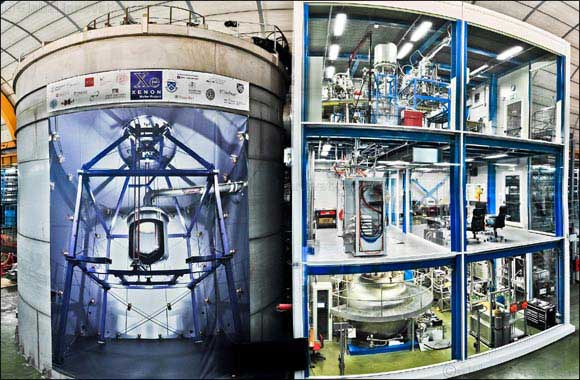 Dark Matter detector observes universe's rarest decay process ever measured