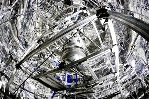 Dark Matter detector observes universe's rarest decay process ever measured