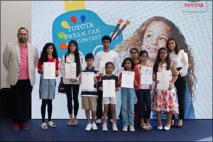 Young artists take centre stage at 5th Annual  Toyota Dream Car Art Contest