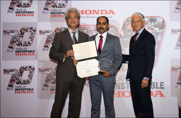 Al-Futtaim Trading Enterprises Honda technician to represent Middle East region at Honda's World Skills Contest in Japan