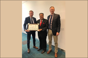 Al Maya receives Certificate of Appreciation from USDA