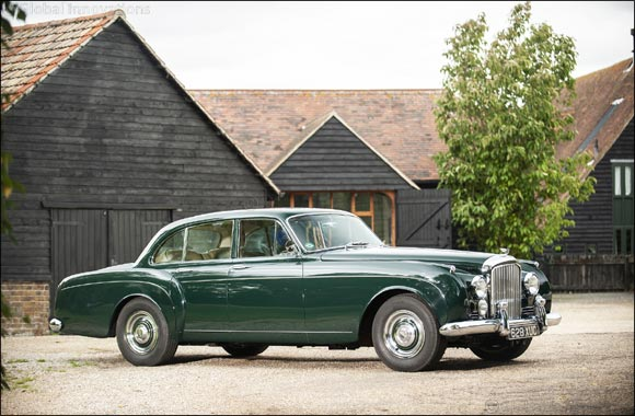 A Century of Innovation: the Bentley S2 Continental Flying Spur