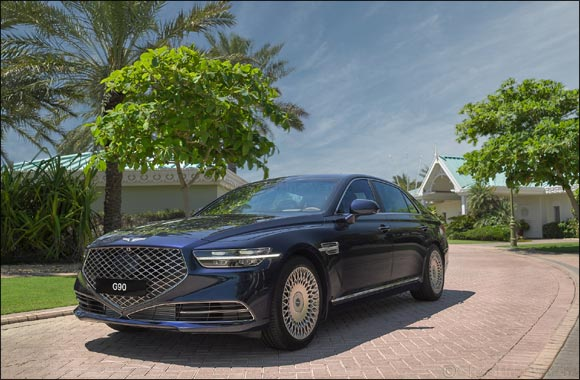2020 Genesis G90 Luxury Flagship Sedan Enters the Middle East
