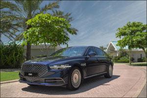 2020 Genesis G90 Luxury Flagship Sedan Enters the Middle East