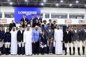 Eighth edition of the Emirates Longines Show Jumping League successfully concludes with Longines Fin ...