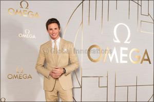 Eddie Redmayne opens the new Planet OMEGA  exhibition in Shanghai