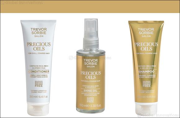 Trevor Sorbie Launches Precious Oils Range