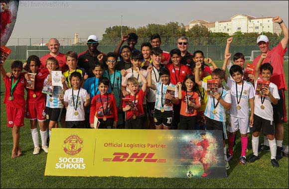 DHL Express in partnership with Manchester United Soccer Schools launches training program