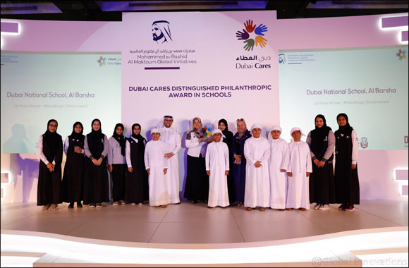 Dubai Cares honors UAE schools and students with Distinguished Philanthropic Award 2019