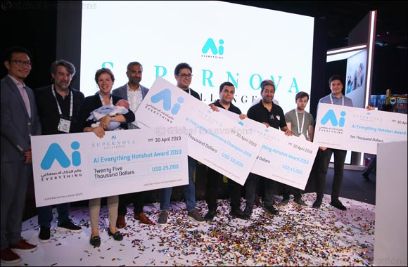 Supernova Challenge hands out a total of US$100,000 to AI disruptors at Ai Everything