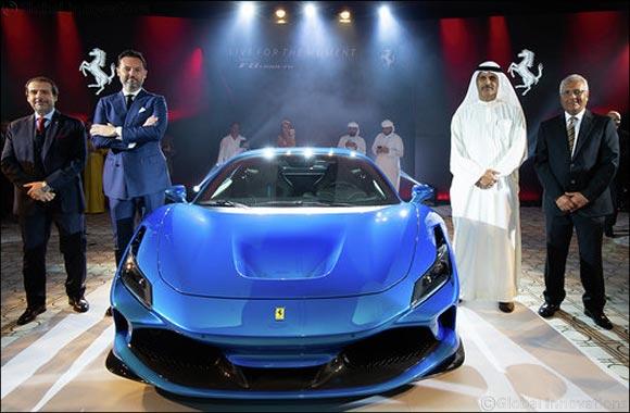 Ferrari F8 Tributo arrives in the UAE