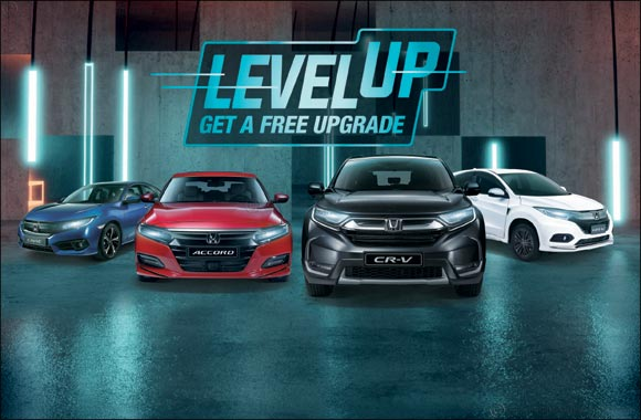 'Level Up' – Free upgrade during Ramadan from Al-Futtaim Honda