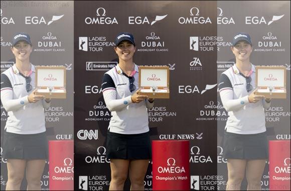 Nuria Iturrios wins the inaugural 2019 OMEGA Dubai Moonlight Classic