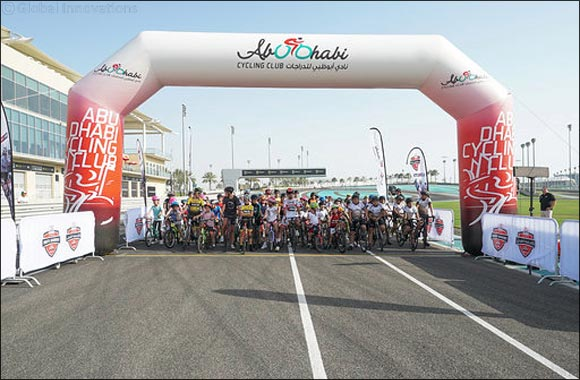 Future Cycling Champions Turn Out to Celebrate Success of UAE Team Emirates Youth Academy