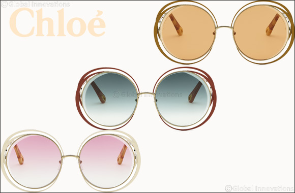 "CHLOÉ  Introduces a Striking New Version of the Iconic ""CARLINA"" Sunglasses"