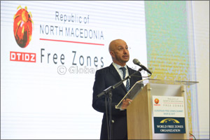 Dr Mohammed Al Zarooni, Chairman of the World Free Zones Organization inaugurates the first European ...
