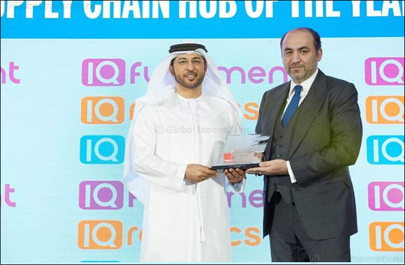 DP World, UAE Region Wins Recognition as the Region's Premiere Supply Chain Hub