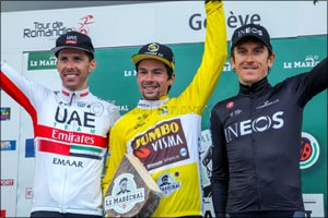 Rui Rampages in Romandie and Earns a well deserved spot on the podium