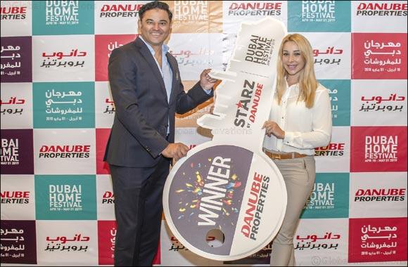 South African Bianca O'Donoghue wins Danube Properties' dream home through Dubai Home Festival raffle draw