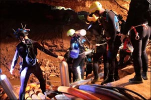 New National Geographic Film Documents Extraordinary Thai Cave Rescue that Gripped the World