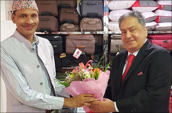 Ambassador of Nepal Visits Al Maya Supermarkets