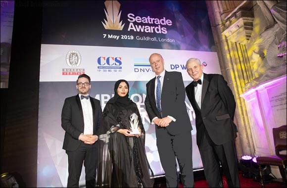Dr. Noura Al Dhaheri receives Young Person in Shipping Award at Seatrade Awards 2019