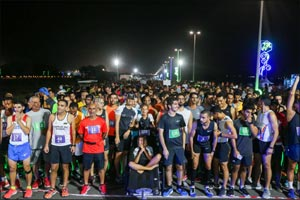 El Ghouz and Belayneh top the 10km charts in NAS Running Challenge