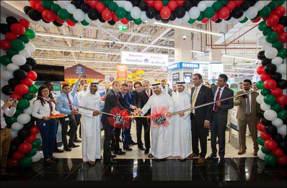 Carrefour Hypermarket Opens at the World's First Nature Inspired Cityland Mall
