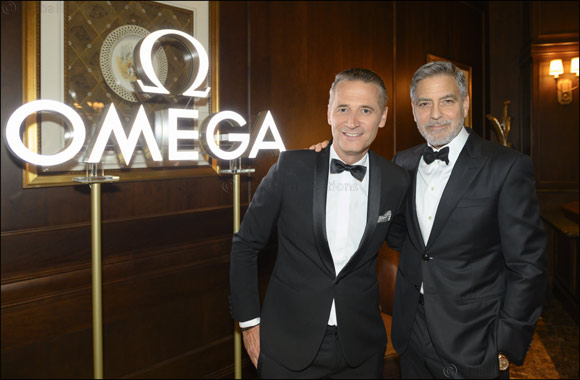 OMEGA hosts a star-filled tribute to the 50th anniversary of the first lunar landing with George Clooney and an impressive line-up of NASA veterans; including Charlie Duke and Thom