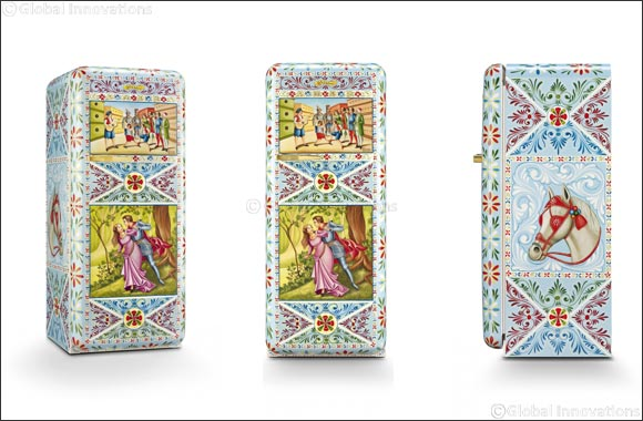 Better Life Unveils Limited Edition Hand Painted Smeg Dolce X Gabbana Refrigerator