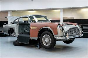 Aston Martin Goldfinger Db5 Cars Are Taking Shape