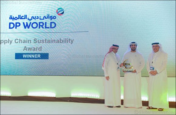 Dp World UAE Region Awarded for Creating Sustainable Supply Chain