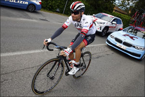 Ulissi Makes Top Three on Day Four of the Giro