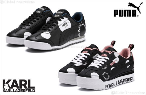 Karl Lagerfeld and Puma Introduce Two Special-Edition Sneakers