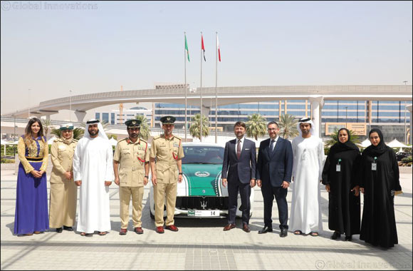 The iconic Maserati GranTurismo joins Dubai Police luxury patrol fleet