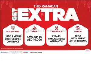 This Ramadan �Get Extra' on all 2019 Kia vehicles from Al Majid Motors