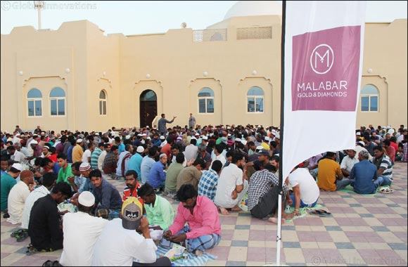 Over 114,000 benefitting now from Malabar Gold & Diamonds CSR Initiatives with Sajaa Iftar camp expansion