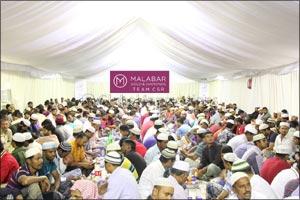Over 114,000 benefitting now from Malabar Gold & Diamonds CSR Initiatives with Sajaa Iftar camp expa ...