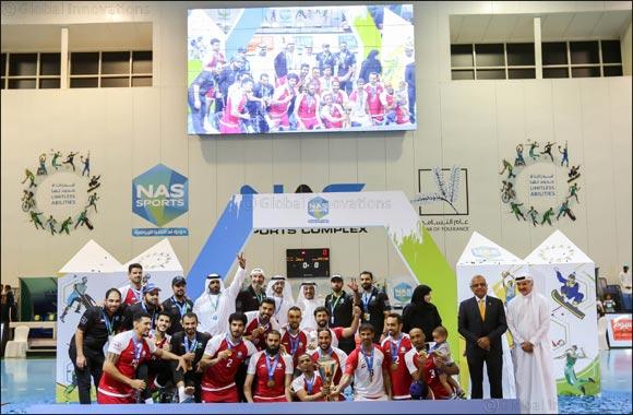 No Surprise as Dubai 2021  win NAS Volleyball title