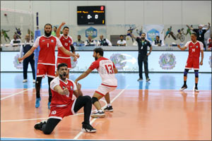 No Surprise as Dubai 2021  win NAS Volleyball title