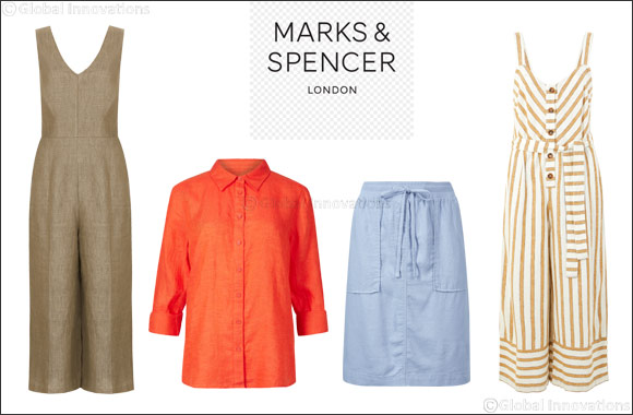 Marks & Spencer Unveils Its Chic Linen Summer Collection