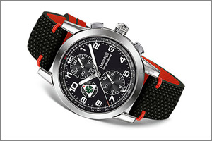 Eberhard & Co. pays extravagant tribute to Alfa Romeo with Quadrifoglio Verde chronograph