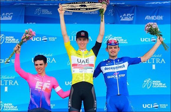 Pogacar Rides Uae Team Emirates' Wave of Success With Gc Win in California