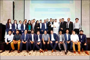Jumbo Electronics wins four awards at du Partners Awards ceremony held in Dubai